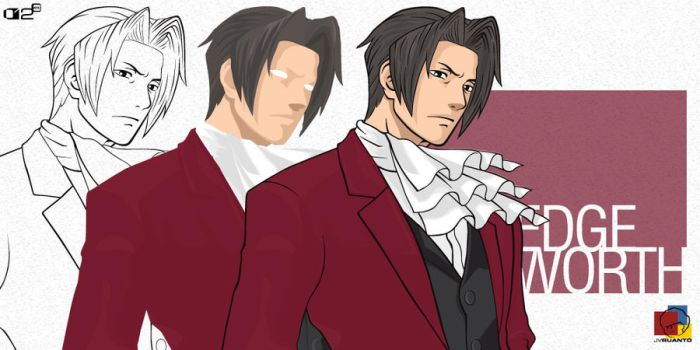 Edgeworth: Line and Color by wombologist