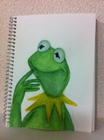 Kermit the Frog by MoonCREEPER
