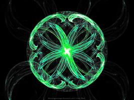 The Neon Green Fractal by JakeLsewhere