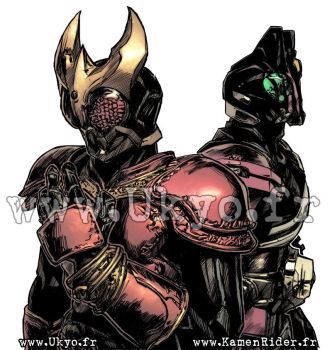 Kamen Rider Kuuga and Decade by Uky0