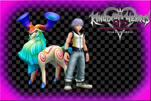Kingdom Hearts 3D wallpaper: Riku's New Spirit by AzuraJae