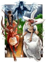 Princess Mononoke 1 by DanielGovar
