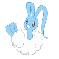 Chibi Altaria by FR0STBIITE