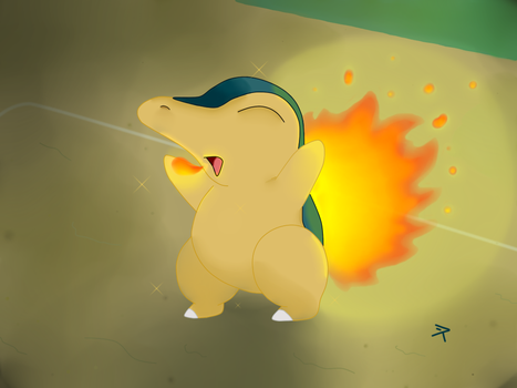 CYNDAQUIL I CHOOSE YOU! by Cid-Gold-Graywoods