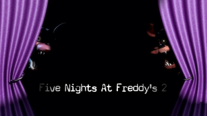 Five Nights At Freddys 2 Official Poster #2 by ProfessorAdagio