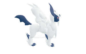 [MMD] Mega Absol WIP1 by pokemew12