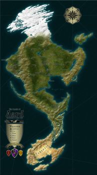 WiP DnD Campaign World UPDATED by Tensen01