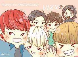 VIXX 1st Anniversary!!! by LemonNight