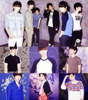 Exo-K Collage by somebodyinmyheart