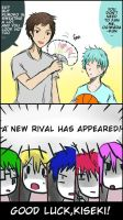 [Kurobas] Kuroko childhood friend~~~~ by Qisloid