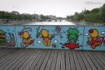 Artistic designs on the bridge by EUtouring