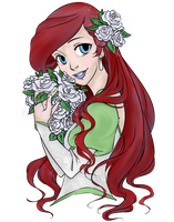 Ariel's Wedding Day by Timmies-Junkie