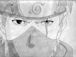 Kakashi(sharingan) by TheZingar