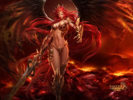 League of Angels - Mikaela 1600x1200 by GTArcade