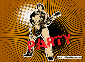Party Vector Graphics by 123freevectors