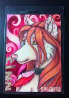 ACEO #6 - Cinn by Crazdude