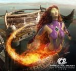 Starfire DC League of Justice by MLauviah