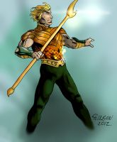 Aquaman_Design AU by stinson627