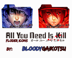 All You Need Is Kill Manga Folder Icons by BloodyGaikotsu
