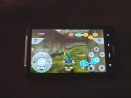 Zelda on HTC DESIRE HD by lpzdesign