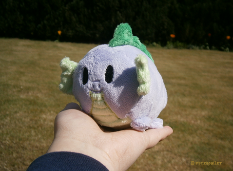 Handmade Spike Stacking Plushie by HipsterOwlet