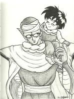 Gohan and Piccolo by shadesoflove