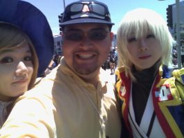 Me and the 2 Cosplay Gals! by Namco-NintendoFan-88