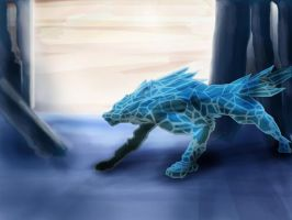 Ice Wolf by octobomb