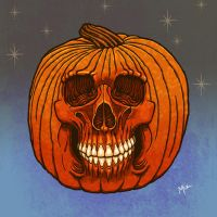Pumpkin of Doom by muzski