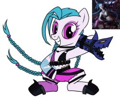 Jinx pony by pppie