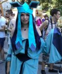 Glaceon Cosplay by ValentinaEarnshaw