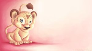 Lena Lioness Wallpaper by parochena