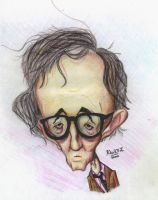 Allen Caricature by Rancez