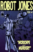 ROBOT JONES 1 COVER by Cyber-Kun