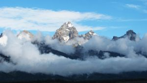 Cloudy Tetons by FirenzeLotus22