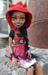 Custom Clawdia Monster High Wolf Girl by AdeCiroDesigns