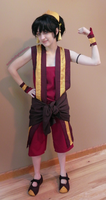 Toph Bei Fong Fire Nation Cosplay NYCC 2012 by BrittyDee