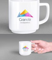 Free Mug Mockup With Holding Positions by Designslots