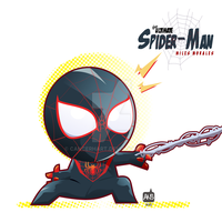 The Ultimate Spider-Man / Miles Morales FANART by Cancerhart