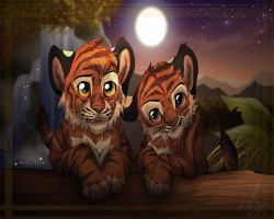Tiger Love by RussianBlues