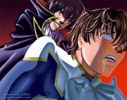 Die for Lelouche,Suzaku by sincomix