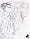 Phoenix's Choice - Ace Attorney by BowserKoopa777