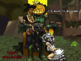 Guild Wars: Happy Halloween by Derakk