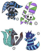 Cheshire Adoptables by Black--Cheshire