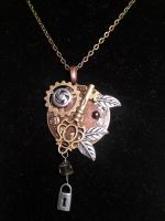 Steampunk Necklace by angelmarlo