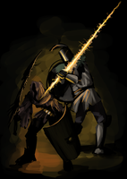 Dark Souls - Praise the Sun by squidbunny