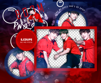 +Pack Png Seventeen|S.Coups by Pohminit