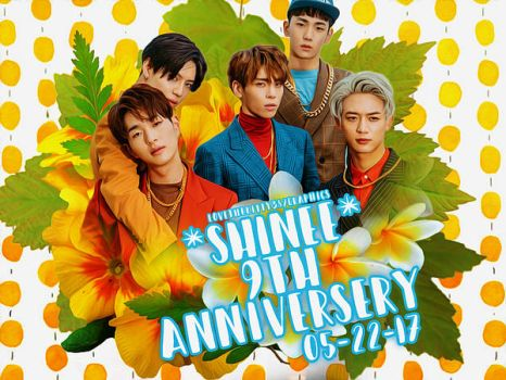 SHINee 9th Anniversery- Blend by lovethekitty387