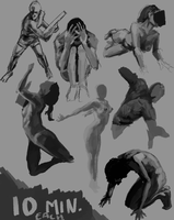 Value Studies by Malusdraco