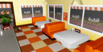 MMD Tomodachi Cafe + DL by Valforwing